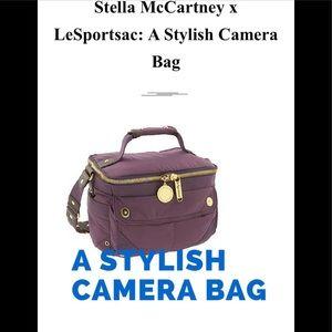 Stella McCartney x LeSportsac canteen camera bag.